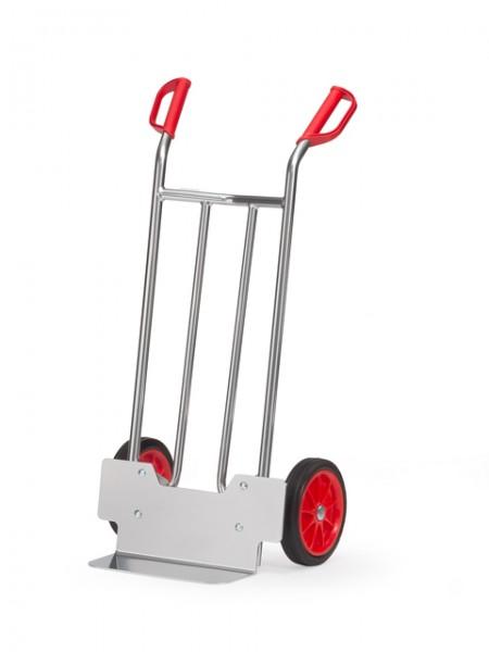 fetra® A1115V Alukarre - Vollgummi-Bereifung - 150kg Tragkraft