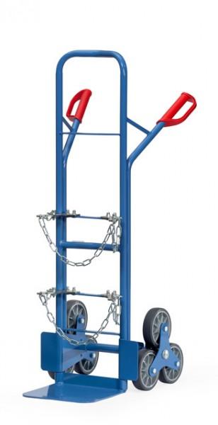 fetra® 51325 Stahlflaschen-Treppenkarre