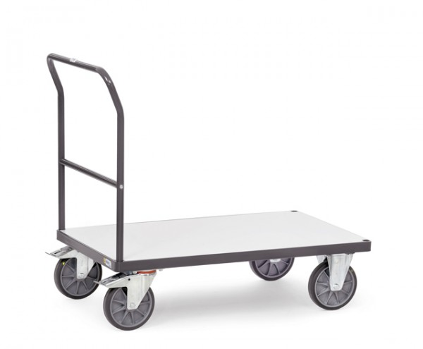 fetra® 9503 ESD-Transportwagen mit Schiebebügel