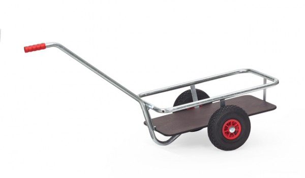 fetra® 6091L Handwagen - Luftbereifung - verzinkt