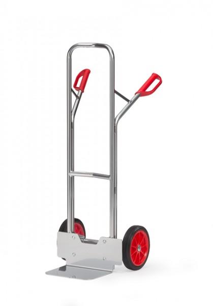 fetra® A1325V Alukarre - 200kg - Vollgummi-Bereifung
