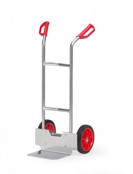fetra® A1125L Alukarre - Vollgummi-Bereifung - 150kg