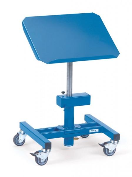 fetra® 3290 Materialständer - höhenverstellbar, fahrbar, neigbar, dreh- und arretierbar