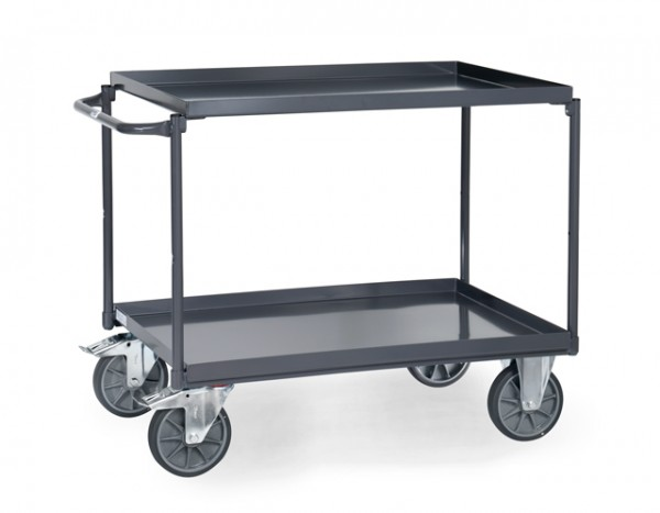 fetra® 9822 ESD-Tischwagen mit Wanne