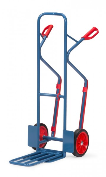 fetra® K1331V Paketkarre - Schaufel klappbar - Vollgummi-Bereifung