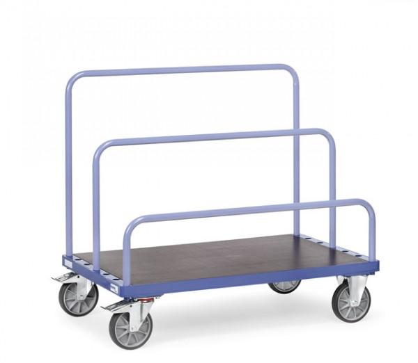 fetra® 4465-1 Plattenwagen - optional mit Bügel - 1200kg