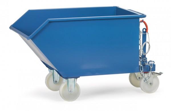 fetra® 6250 Kippbehälter mit Rollen und Ablasshahn