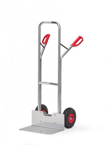 fetra® A1326L Alukarre - Luftbereifung - breite Schaufel
