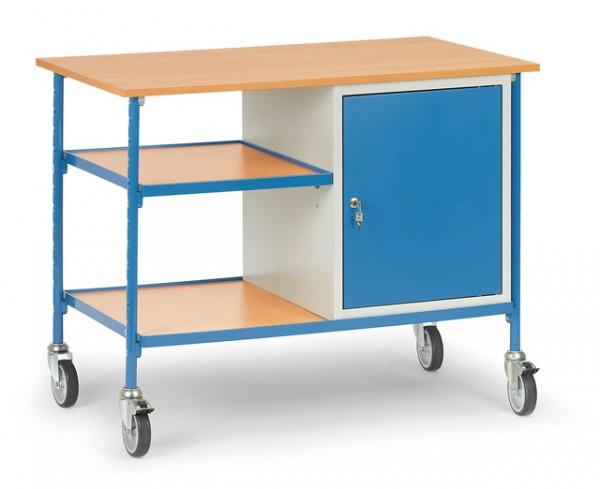 fetra® 5864 Rolltisch mit Schrank