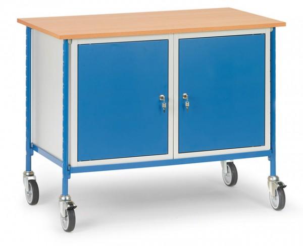 fetra® 5868 Rolltisch mit 2 Schränken