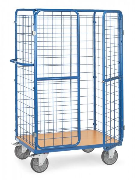 fetra® 8582-3D Paketwagen mit Flügeltüren & Dach - abschließbar