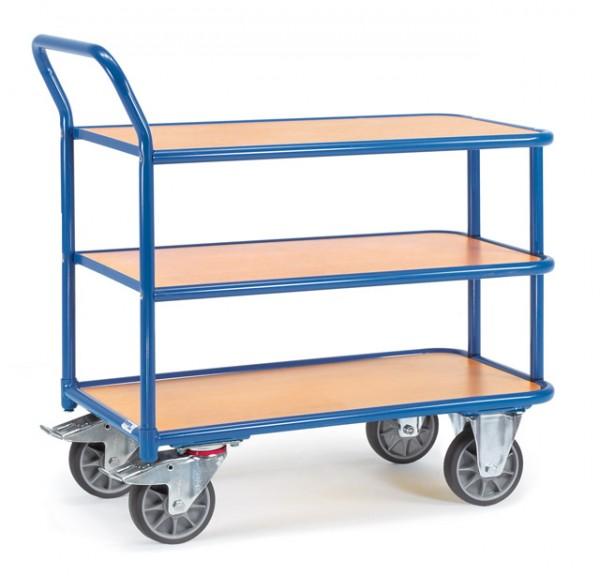fetra® Tischwagen 2610 - 3 Etagen