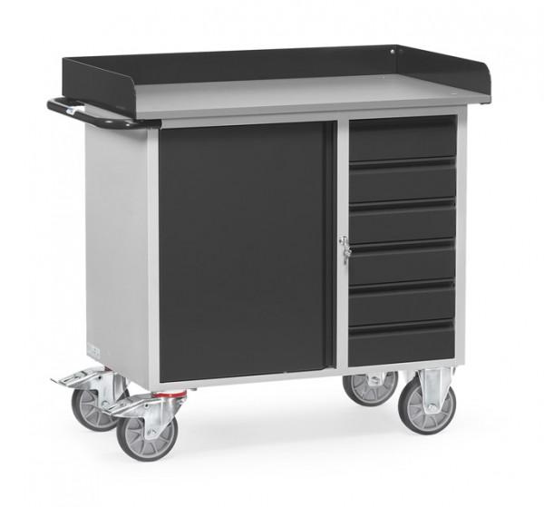 """fetra® 12450/7016 Werkstattwagen """"Grey Edition"""""""